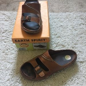 Earth Spirit Well Loved Northern Brown Sandal 10